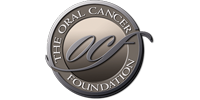 The Oral Cancer Foundation logo in black, white, and gray