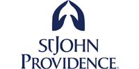 Dark blue St. John Providence logo